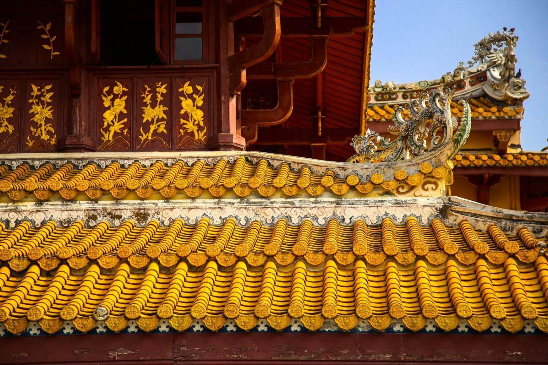 Palacete dorado en Tailandia