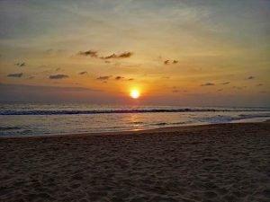 hikkaduwa playa de Sri Lanka