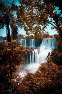Vista de las Cataratas del Iguazú, Argentina
