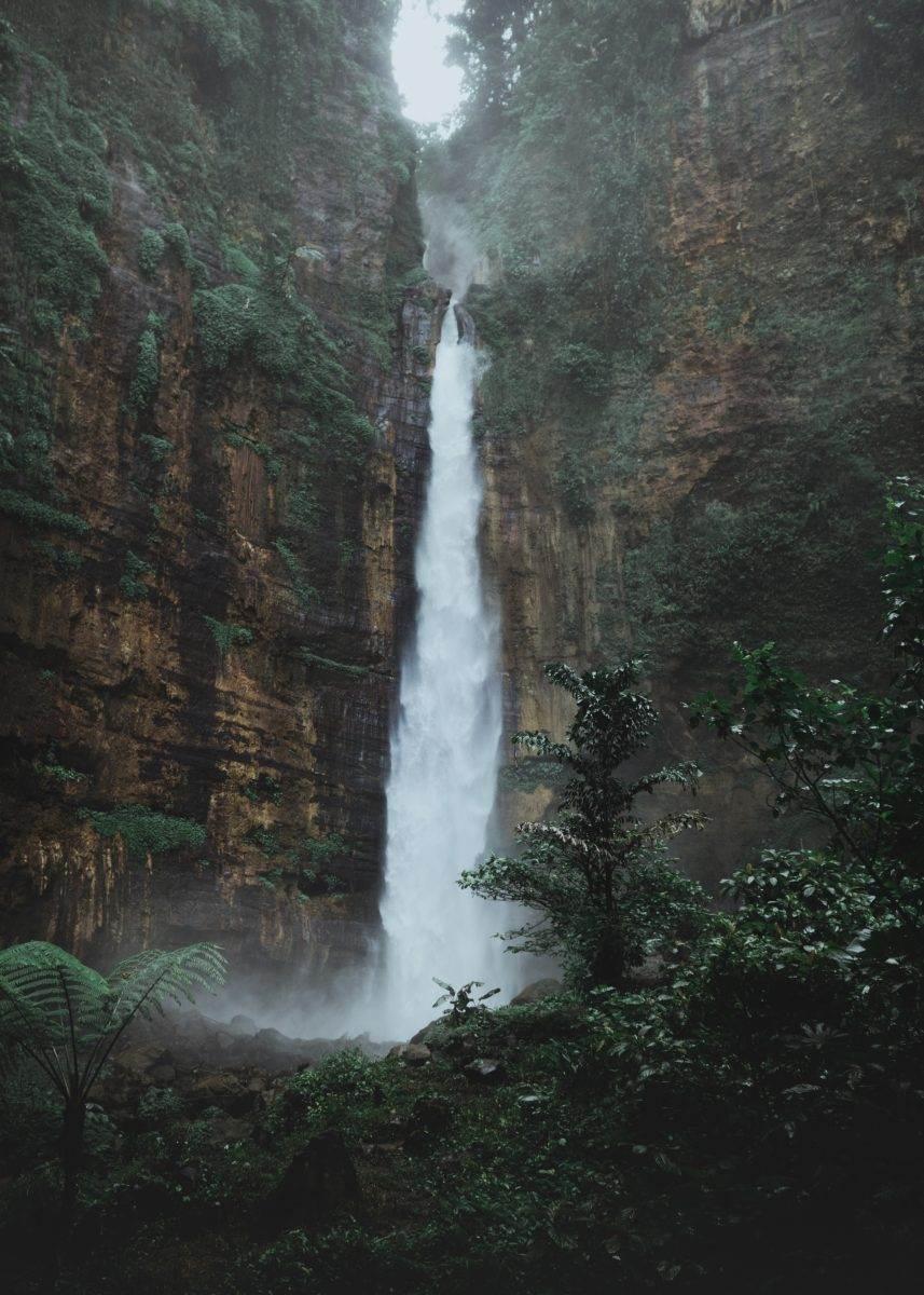 Cascada en Indonesia