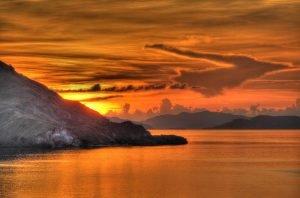 Indonesia al amanecer
