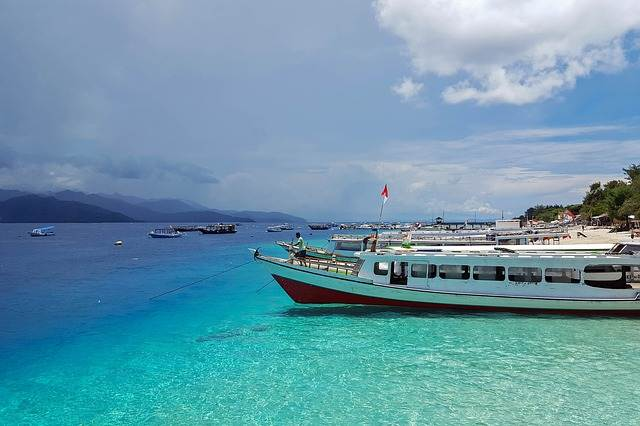 Playas turquesas de las Islas Gili
