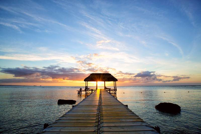 islas mauricio playa