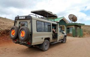 Jeep en África
