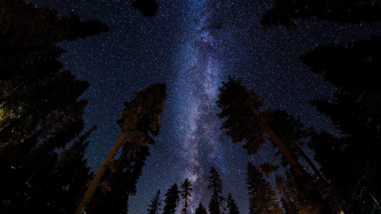 Cielo nocturno del Parque Nacional Yosemite