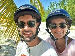 José y Candela en Cuba
