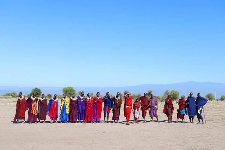 Tribu de Iraqw en Karatu (Tanzania)