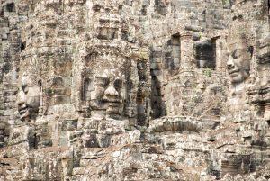Templo de las cabezas en Angkor Wat