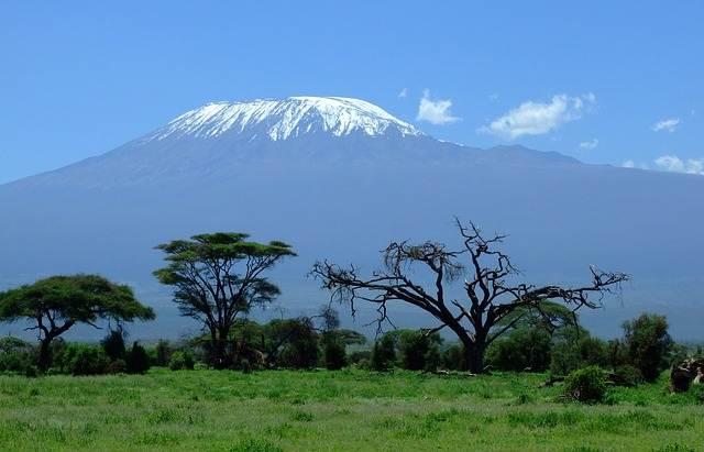 Vistas del Kilimanjaro, en Kenia