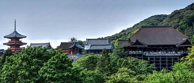 Conjunto de templo de Kiyomizu-dera