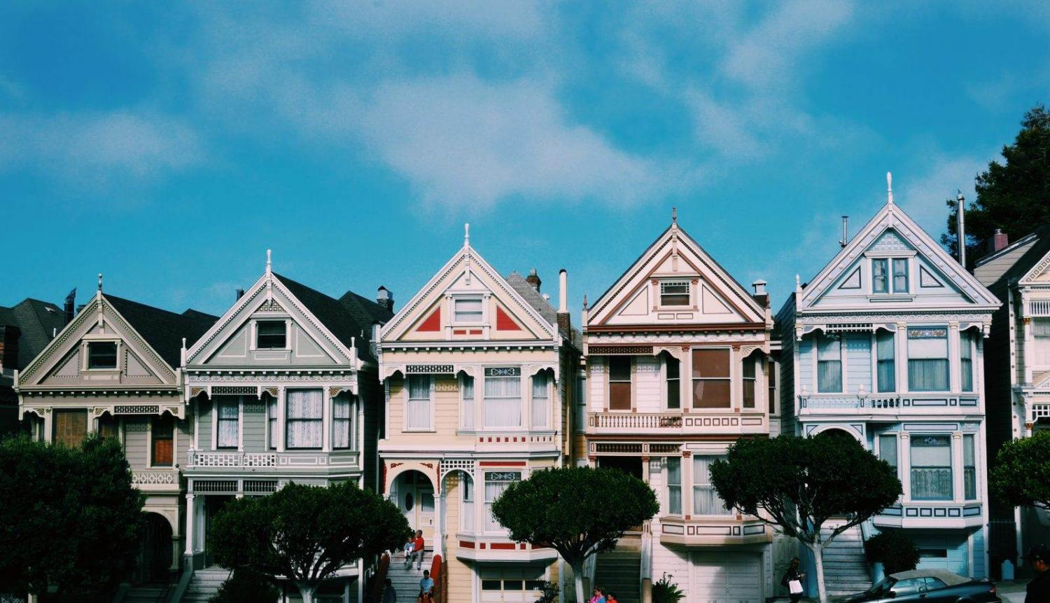 The Painted Ladies en San Francisco