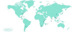 los viajes de sofía mapa mundi