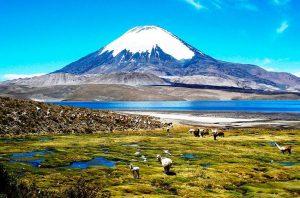 Lago Chunga en Chile