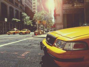 Taxis en NYC