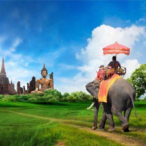luna de miel romántica Tailandia