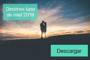 destinos luna de miel 2019