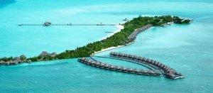 resort turístico en maldivas