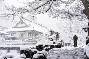 Japón nevado