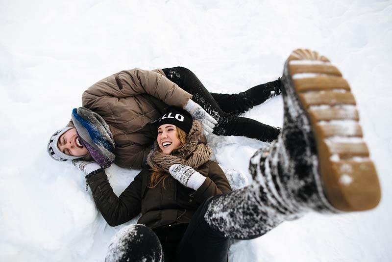 Luna de miel en la nieve. Lugares para esquiar que ni te imaginas