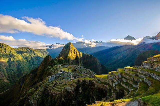 Machu Picchu en Peru