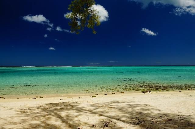 playa de islas mauricio