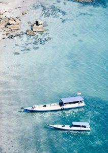 Barcos en Komodo