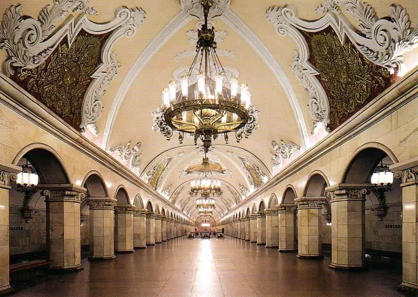 El fantasma del metro de Moscú