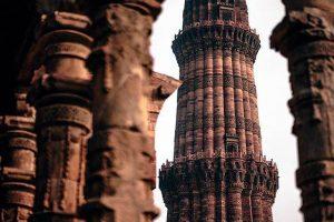 Minarete de la India