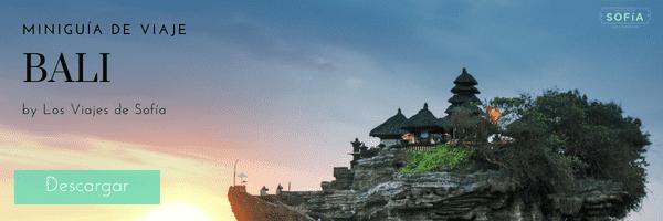 miniguía de Bali