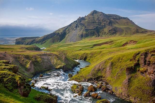 Montañas de Islandia