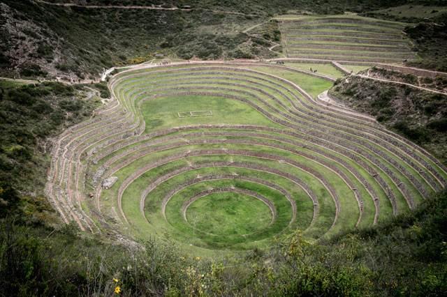 Moray una de las cosas que visitar en Perú