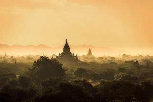 Myanmar-luna de miel