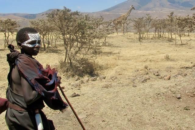 Niño Masai
