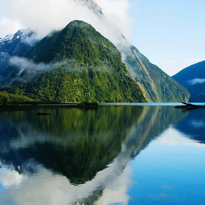 montaña Nueva Zelanda