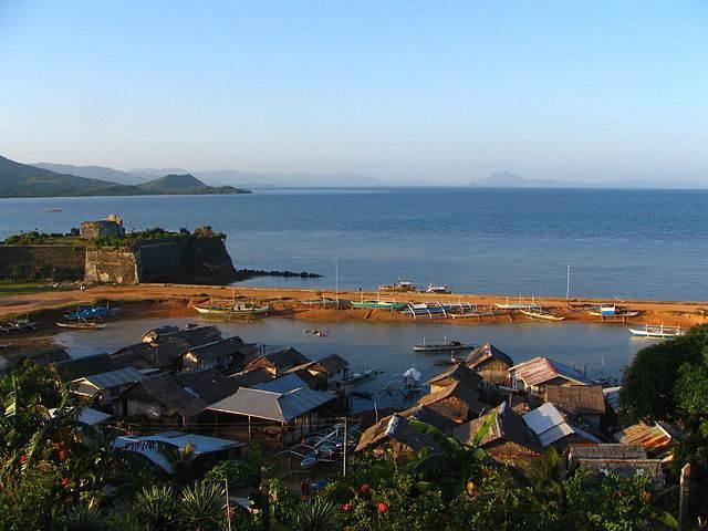 foto del puerto de palawan en filipinas