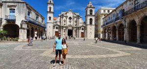 Pareja en La Habana