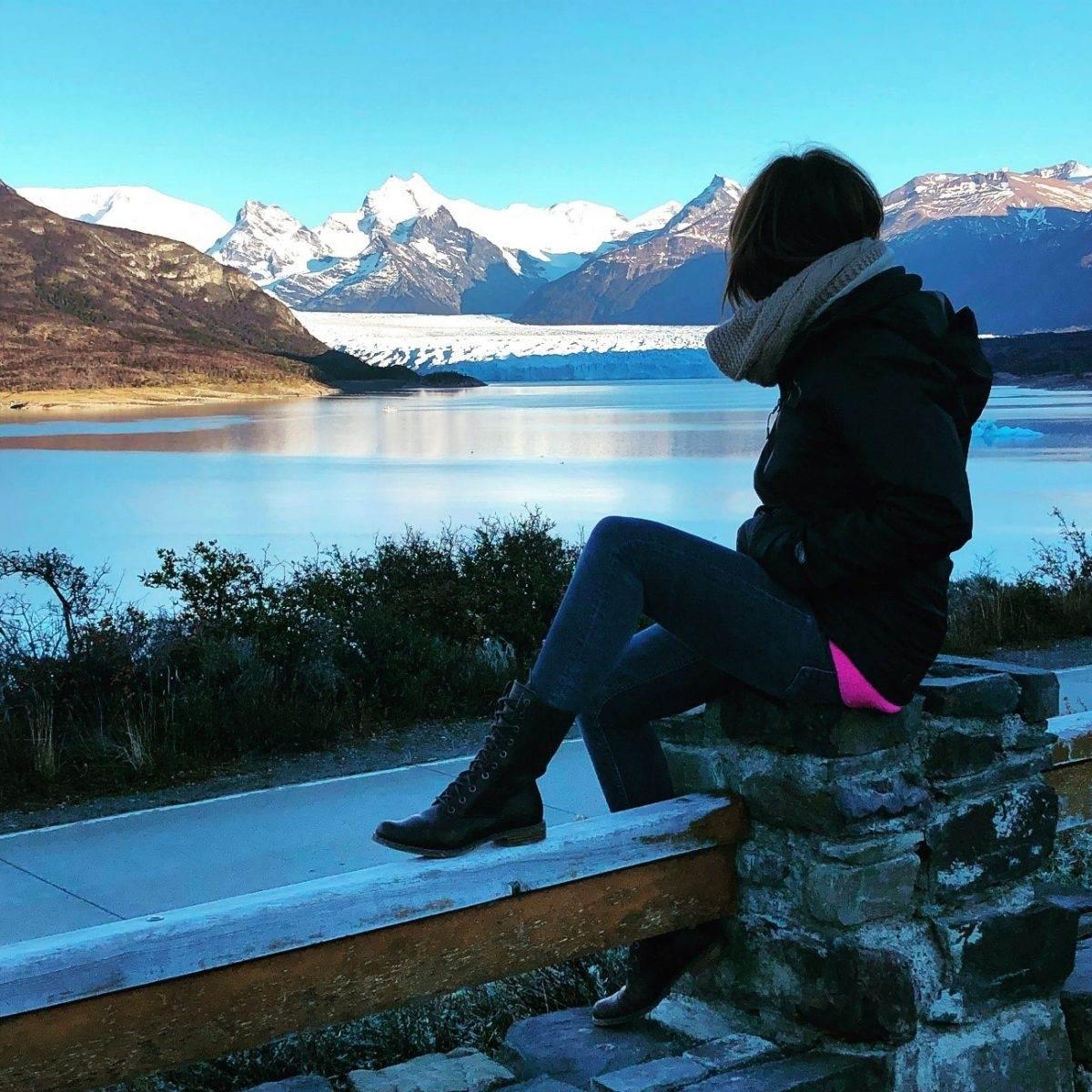 Parque Nacional de los Glaciares en Argentina