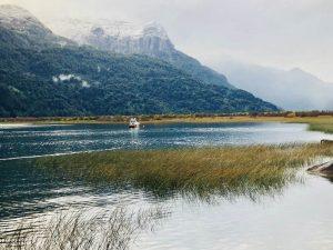 Paisaje de Petrohue, en Chile
