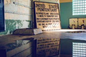 Interior de la carcel de Alcatraz