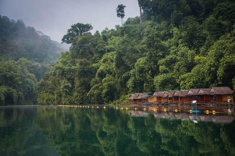 Cabañas en el Parque Natural de Khao Yai