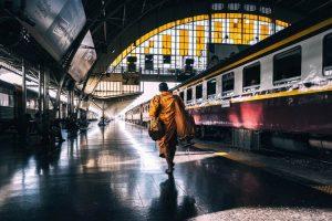 Estación de tren de Tailandia