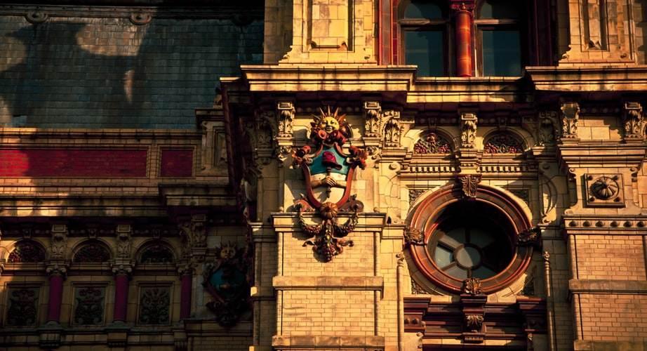 Fachada de un edifico en Buenos Aires