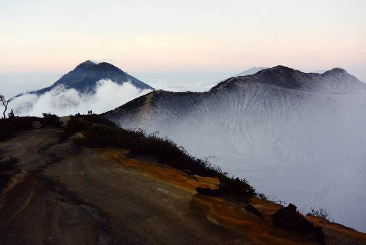 Volcán Kawah Gunung Ijen en Java