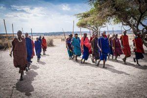 Tribu Masai en Kenia