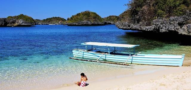 Playa de El Nido, en Filipinas