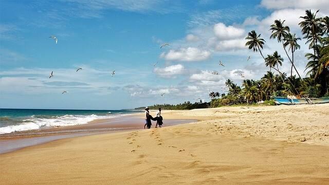 Las playas paradisíacas de Sri Lanka