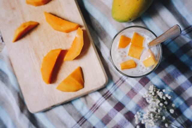 Postre de mango de Vietnam
