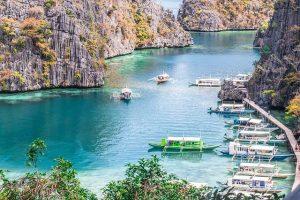 Pequeño puerto de filipinas
