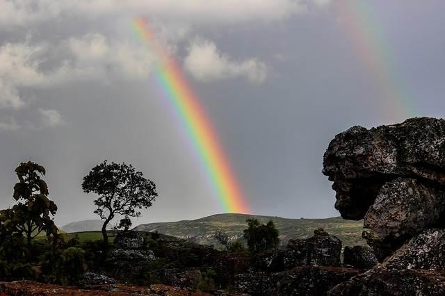 arcoiris en africa
