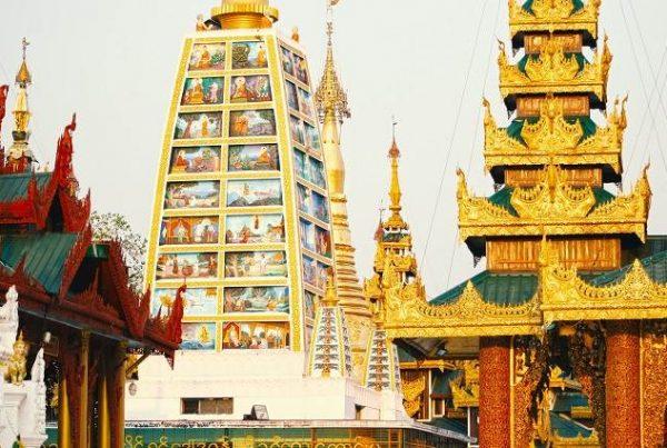 Templos de Rangún Birmania